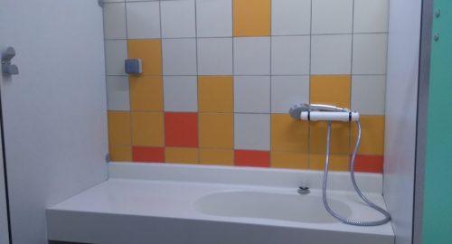 Bloc sanitaire baignoire bebe