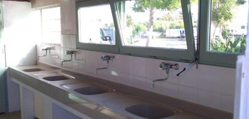 Bloc sanitaire vaisselle bloc 1