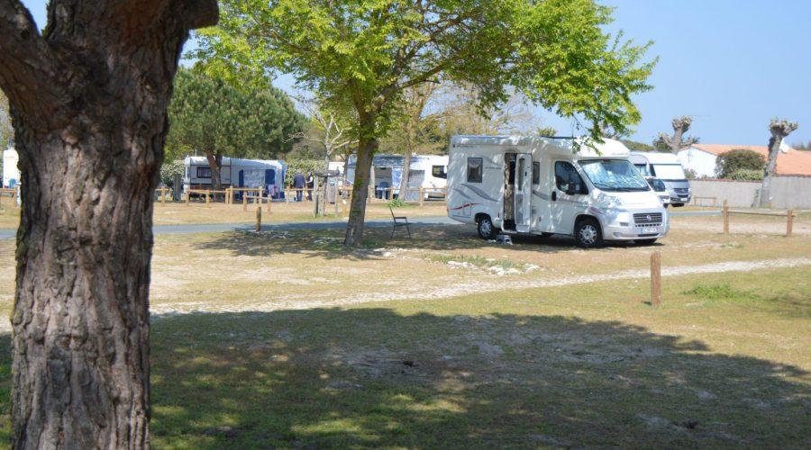 Emplacement camping car caravane