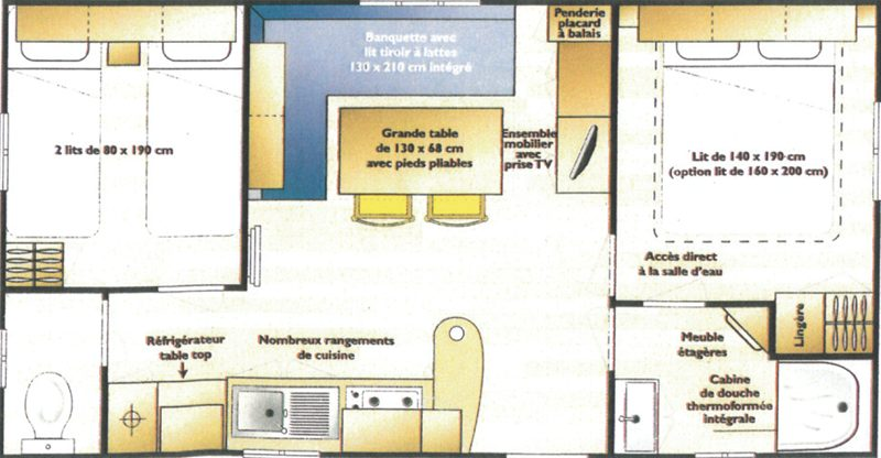 Plan interrieur MH